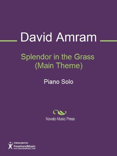 Splendor in the Grass  (Main Theme) by [Amram, David]