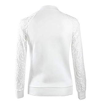 TWIFER Damen Jacke Spitze Blazer Anzug Freizeitjacke Mantel Outwear