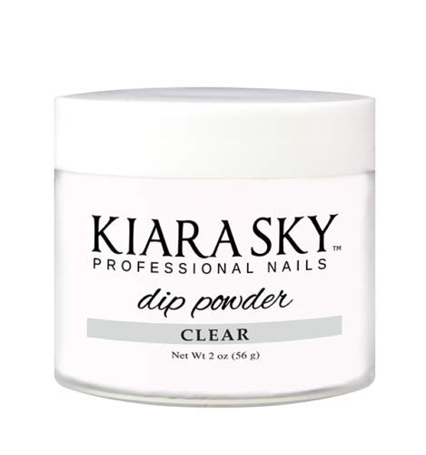 Kiara Sky Dip Powder, Clear, 2 oz.