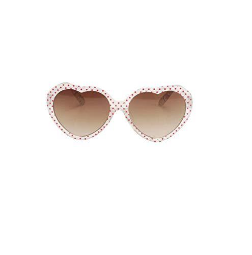 Ultravioleta Aire de de de Libre al Defect Chica Gafas Sol Sol Anti de Deportes Gafas corazón melocotón Ocio Viajes 4qAXwT