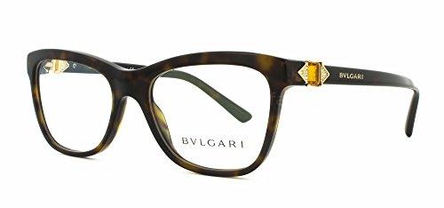 Eyeglasses Bvlgari BV 4101B 504 DARK HAVANA by Bulgari