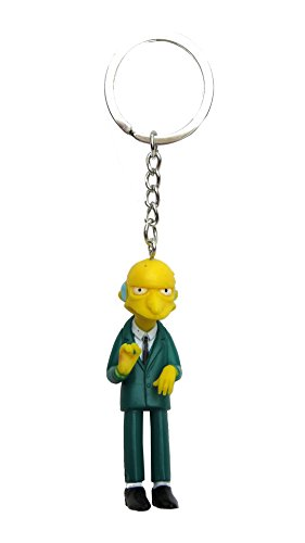 Fox The Simpsons Montgomery 3D PVC Key Ring