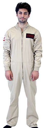 Ghostbusters Venkman Costume Jumpsuit (X-Large)]()