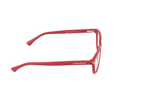 Emporio Armani Montures de lunettes 3073 Pour Femme Black, 52mm 5456: Red