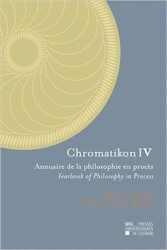 Téléchargement Chromatikon IV: Annuaire de la philosophie en procès - Yearbook of Philosophy in Process epub, pdf
