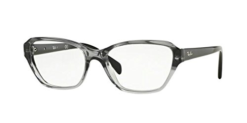 Ray-Ban Women's RX5341 Eyeglasses Gradient Striped Grey 53mm