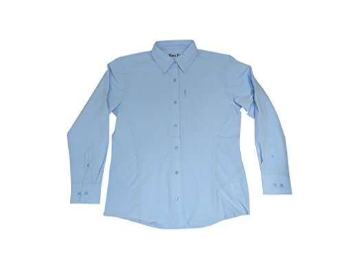 Bimini Bay Outfitters Clearwater Long Sleeve Women's Shirt (Blue Mist, ()