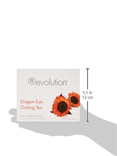 30-Count Tea Bags Revolution Dragon Eye Oolong Tea