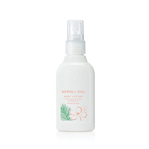 Thymes - Neroli Sol Petite Body Lotion - Moisturizing Lotion with Coconut Oil and Shea Butter - Travel Size - 2.5 oz