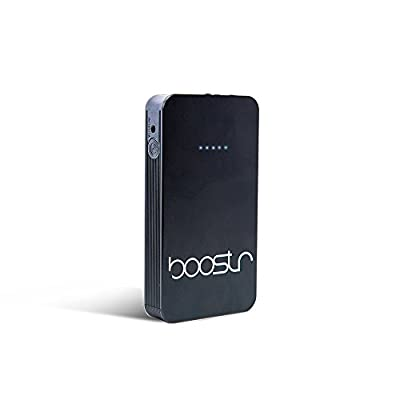 Boostr Multifunctional Auto Battery Jump Starter 8000mAh Lithium Ion   Compact, Lightweight, Portable Charger   For Cars, ATVs, Motorcycles, Boats, Traveling, Cell Phones, USB Bearing Devices & More