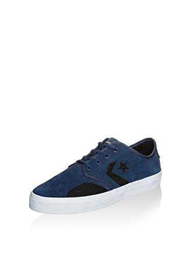 Zapatilla Converse Zakim Peppered Suede Navy-Black-Gold Azul