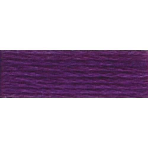 DMC 6-Strand Embroidery Cotton Floss, Very Dark Violet