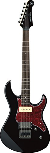 Tremolo Solid Body Electric Guitar - Yamaha Pacifica PAC611H BL Solid-Body Electric Guitar, Black