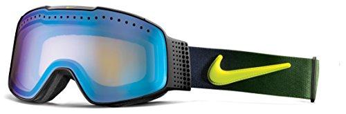 Nike Fade Ski Goggles, Yellow Blue Ion, Black Cyber - Goggles Dragon Nike