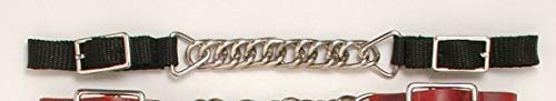 (Royal King Flat Chain Nylon Curb Chain - Black)