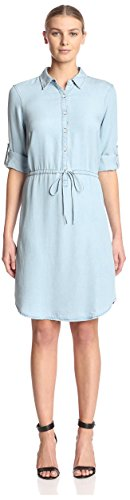 James & Erin Women's Drawstring Waist Dress