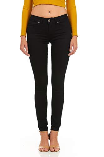 Cover Girl Skinny Jeans for Women Juniors Mid Rise Denim Size 13 Black (31