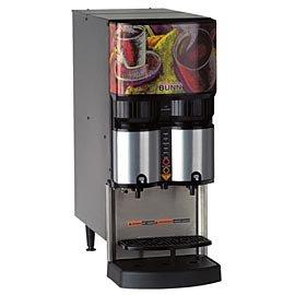 BUNN LCA-2 Ambient Liquid Coffee Dispenser with 2 Dispense Heads