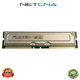 33L3250 128MB IBM Compatible Memory IntelliStation 184pin PC800-45 ECC RDRAM RIMM 100% Compatible memory by NETCNA USA