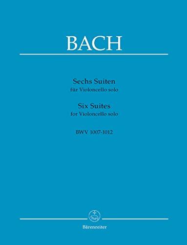 Bach: 6 Cello Suites, BWV 1007-1012
