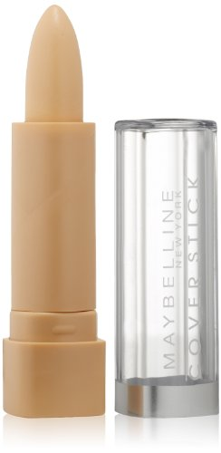 Maybelline New York Cover Stick Concealer, Light Beige, Light 1, 0.16 Ounce