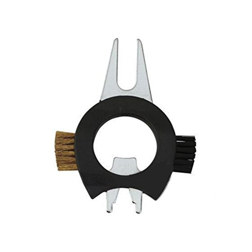 nuolux golf divot tool bottle opener golf groove cleaner brushe spike wrench sporting goods. Black Bedroom Furniture Sets. Home Design Ideas