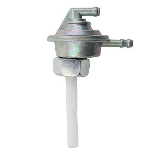 GOOFIT Fuel Pump Valve Petcock w/Filter Low-Tension Switch for GY6 50cc 60cc 80cc 125cc 150cc ATV Go Kart Moped Scooter