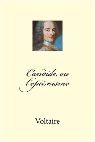 Candide Ou Loptimisme French Edition Voltaire 9781494997540