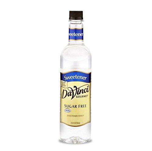 (Da Vinci Sugar Free Syrup Sweetener, 750 ml)