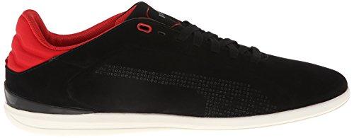 Puma Hombres Gigante The Ferrari Sneaker Black / Black / Rosso Corsa