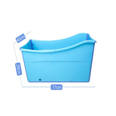 bluee S bluee S WTTTTW Collapsible Portable Foldable Dog Cat Bath Tub Expandable Grooming Washing Accessory for Small Medium Large Pets