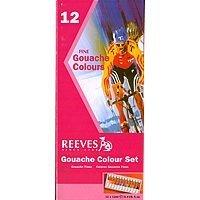 Reeves Art Gouache Color Tube Set 12ml 12/Set