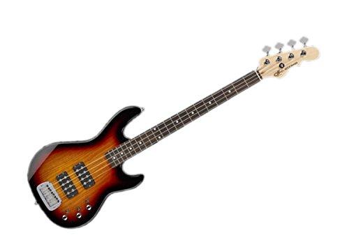 G&L Tribute Series L-2000 Bass Guitar - 3-Tone Sunburst/Brazilian Cherry - TI-L20-120R20R00