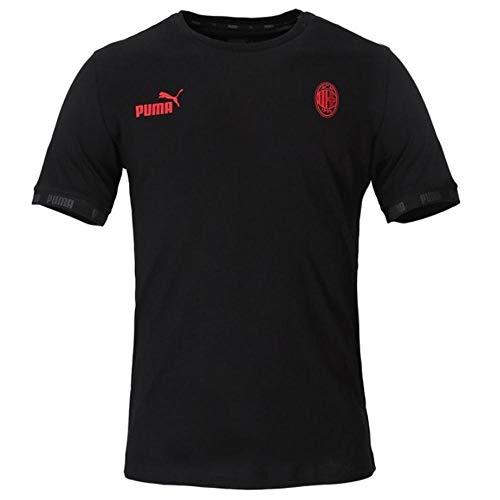 PUMA 2019-2020 AC Milan Football Culture Tee (Black)