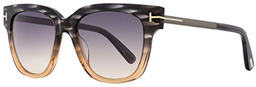 Tom Ford Women's Tracy TF436 TF/436 20B Grey/Beige Fashion Sunglasses - Ford Tracy