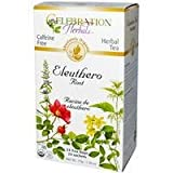 CELEBRATION HERBALS Ginseng Eleuthero Root Tea Organic 24 Bag, 0.02 Pound
