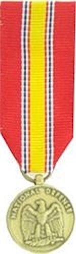 National Defense Service-MINI MEDAL