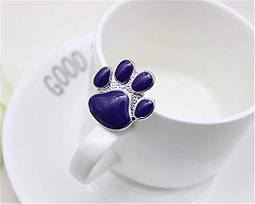 LOSOUL Cute Cartoon Dog Cat Claw Drop Brooch Pins for Shirt Jackets Coats Caps Bags Accessories (Brooch Claw)
