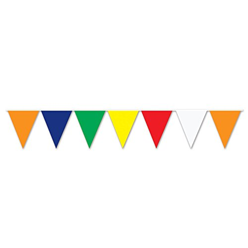 Outdoor Pennant Banner (multi-color) Party Accessory  (1 count) (1/Pkg) ()