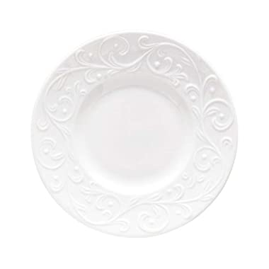 Lenox Opal Innocence Carved Party Plate