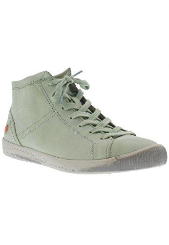 Softinos Isleen Damen Hohe Sneaker Verde Pastello