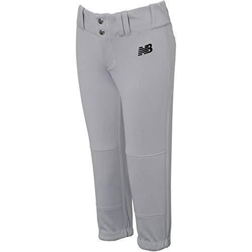 New Balance Youth Gem Fastpitch Softball Pant Grey XL