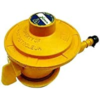 XPRESS LP Gas Cast Iron Cylinder Adapter for Bharat/INDANE/HP Gas Cylinders , Yellow