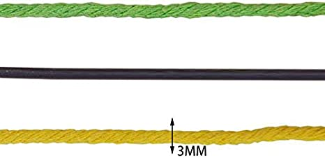 Dunkelblau DaoRier 100m Baumwollschnur 3mm Baumwollkordel B/äcker Bindf/äden Schnur Geschenk B/änder Baumwollseil Dekoration