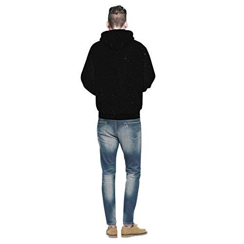 Hoodie Hoodie qualità Autunno Cappuccio Stampate Streetwear Primaverile Unisex di di con Cappuccio Manica Coppia Felpa Felpe Felpa Moda Elegante Sweatshirt Alta Lunga Accogliente Swag Casual va1xq8Z5w