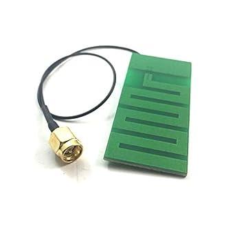 Antena WiFi interna PCB Omni de 2,4 Ghz, alta ganancia, 6 dbi ...