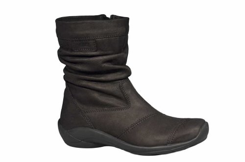 Boots oiled Proof Lining Water Wolky 500 WP leather Comfort Jacky Warm black 56qHaT4Ow