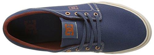 Shoes DC Trase Uomo Blu Vgo TX Indigo Vintage Basse rr6dOwxq