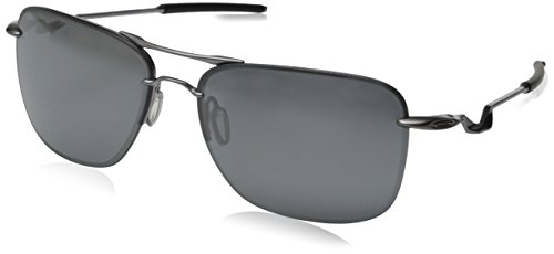 Oakley Men's Tailhook OO4087-06 Rectangular Sunglasses, Lead, 60 - Tailpin Oakley