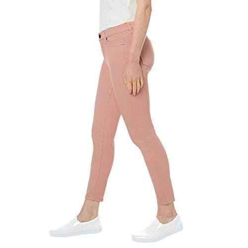 BUFFALO Ladies' Aubrey Stretch Ankle Grazer Jeans (6/28, Pink)
